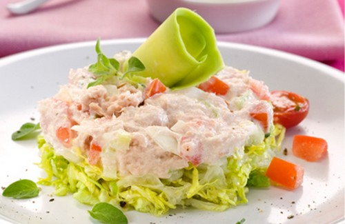 5 salades dans lesquelles on adore ajouter du thon en boite - Photo par Philadelphia