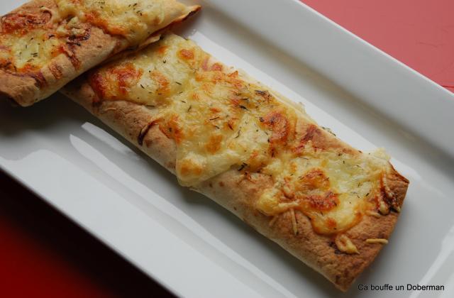 Tortillas aux lardons, aux oignons et sauce barbecue - Photo par scarlett