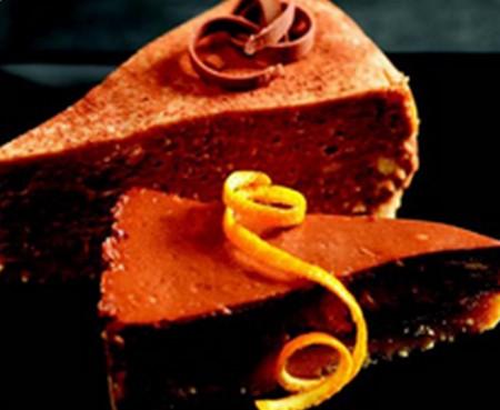 Cheesecake orange-chocolat - Photo par Lindt