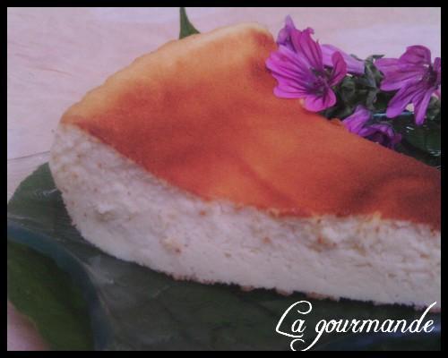 Gâteau au fromage blanc  rapide - Photo par lagourmandeww