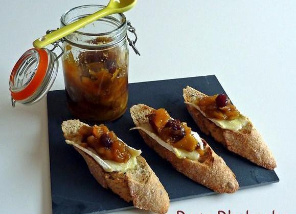Crostini au chutney de pomme et au brie - Photo par Membre_248867