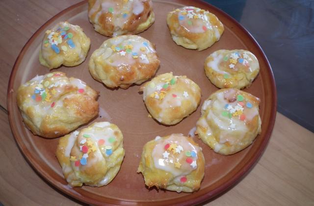 Petits choux à la crème - Photo par pegg