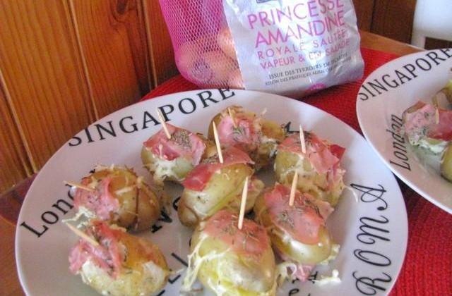 Bouchées de Pommes de Terre Princesse Amandine ® - Photo par Laura.S