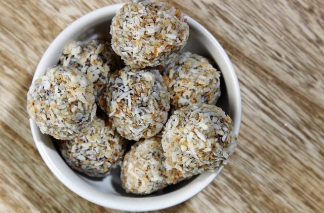 Energy balls à la noix de coco - Photo par 750g