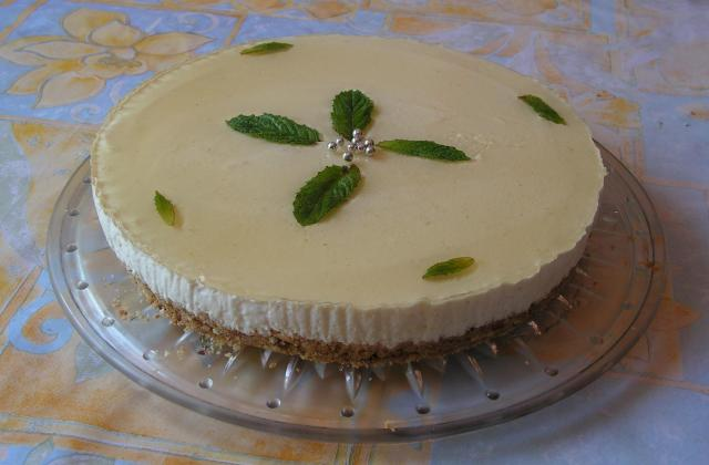 Cheesecake à la menthe - Photo par kekeli