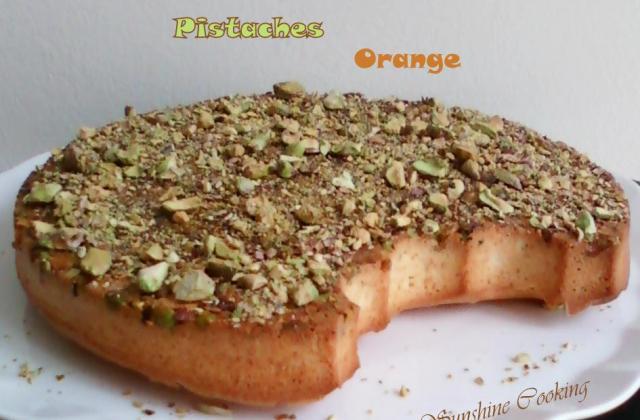 Moelleux aux pistaches et au sirop à l'orange et au miel - Photo par sunshining