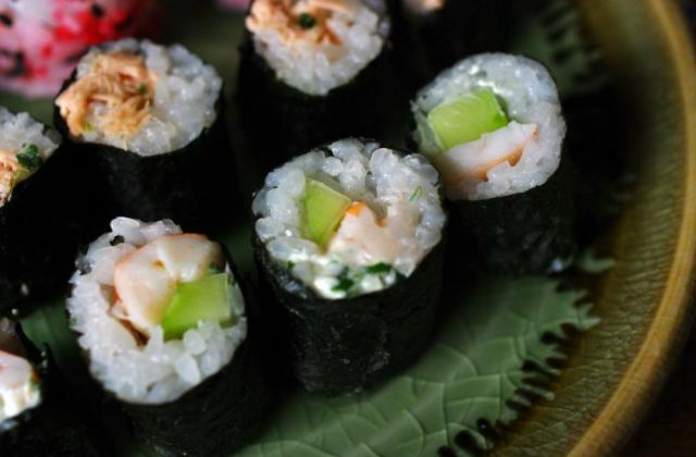 "Maki ""3C"" :  Concombre, Crevette et Cream-cheese - Photo par wandering-girl"