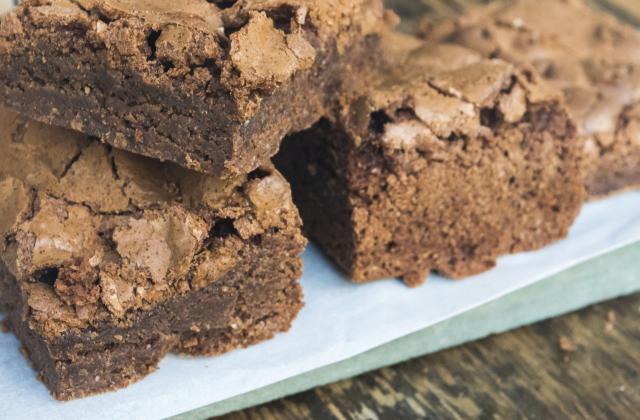 Brownies moelleux aux pépites de chocolat - Photo par SCIE
