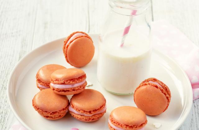 Macarons à la rose - Photo par Angélique Roussel pour Soy
