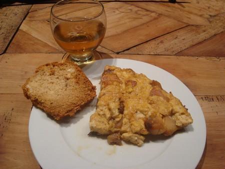 Omelette sucrée aux pommes - Photo par selfin