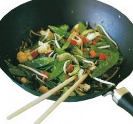 Wok de légumes façon thaïlandaise - Photo par Chez un Chef
