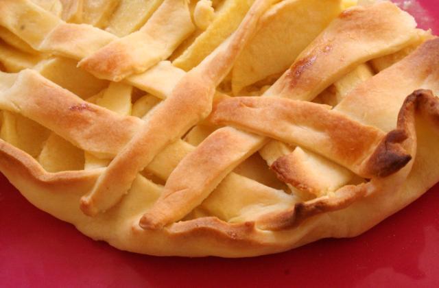 Tarte aux pommes minute - Photo par leilco