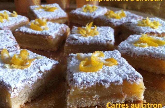 Carré fondant au citron - Photo par ouissa9