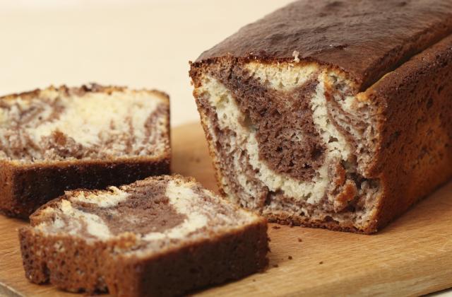Cake marbré banane Nutella - Photo par nawelm