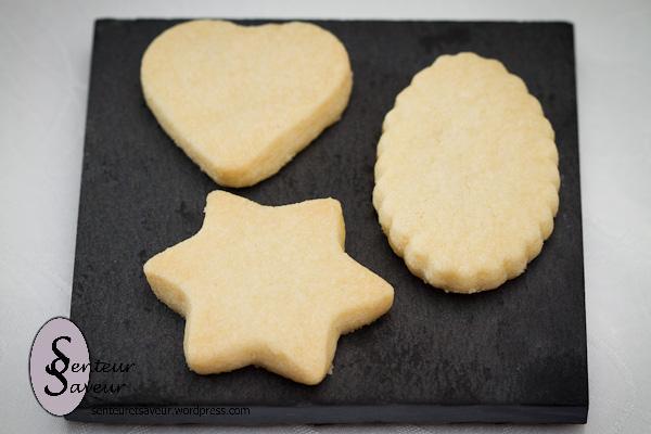 Shortbread (Petits Sablés écossais) - Photo par senteur et saveur