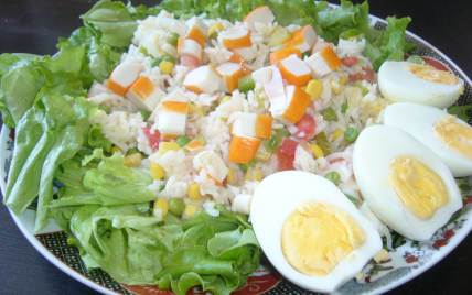 Salade aux éclats du Ghana - Photo par Cuisine Niouse