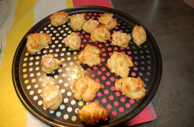 Chouquettes au Thermomix express - Photo par goux-hequet