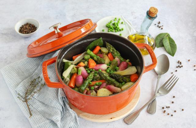 Cocotte de légumes primeurs - Photo par Silvia Santucci