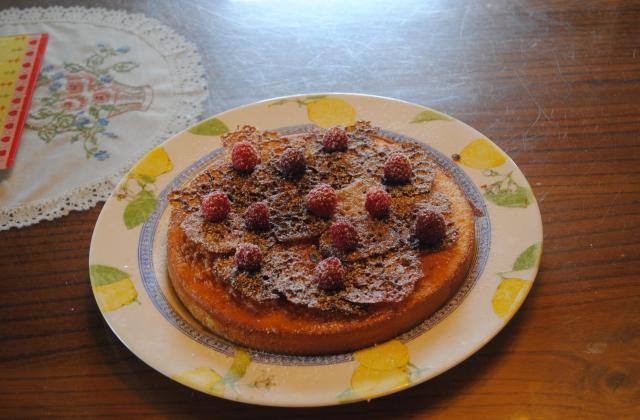 Savarin moelleux et croustillant de caramel - Photo par gwenol6
