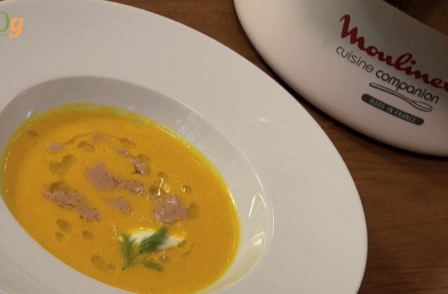 Crème de potimarron : délice automnal - Photo par Chef Christophe