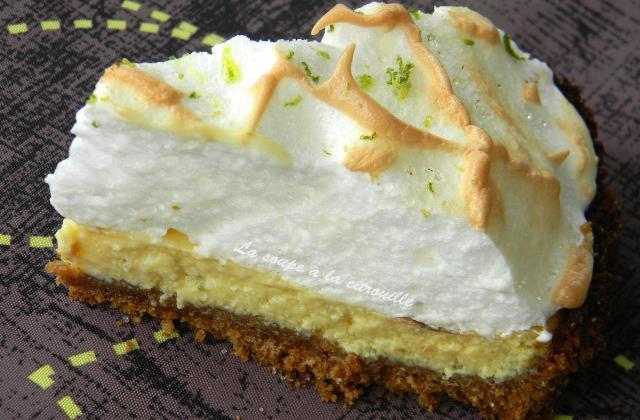 Key lime pie - Photo par La soupe à la citrouille