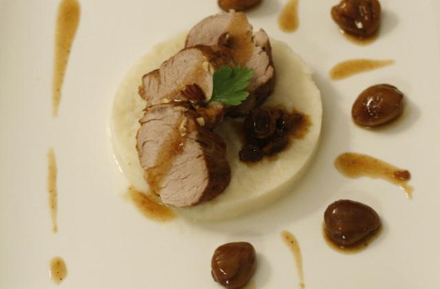 Mignon d'Automne - Photo par la cuisine caro