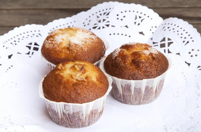 Muffins à la banane au coeur de Nutella - Photo par lebots