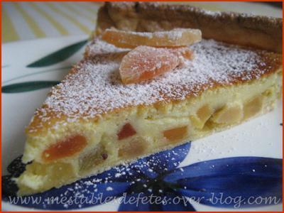Tarte exotique Ricotta et fruits déshydratés - Photo par edithsobstyl
