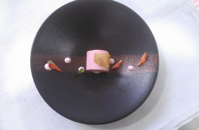 Parfait glacé à la fraise - Photo par elsabux