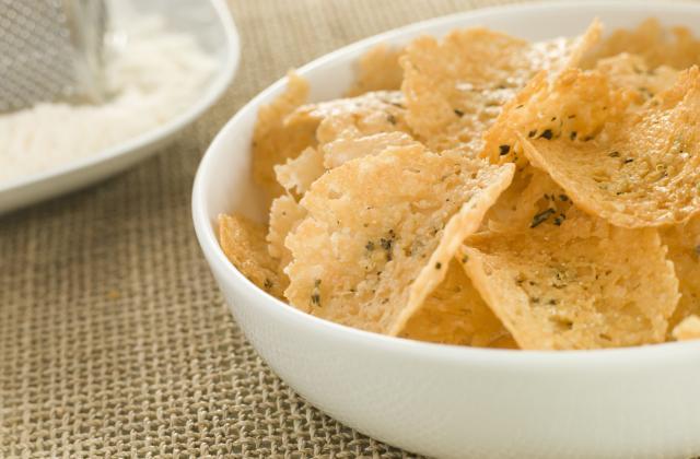 Chips de parmesan - Photo par 750g