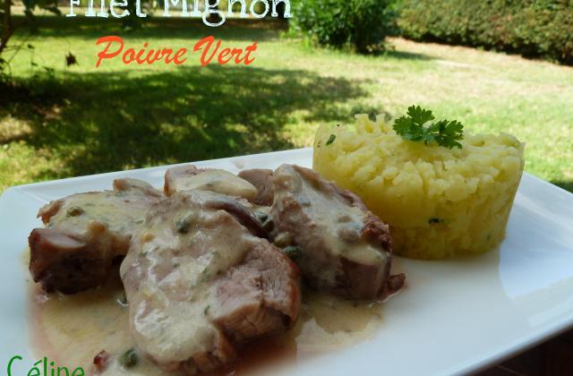 Filet mignon de porc au poivre Vert - Photo par Choupette82