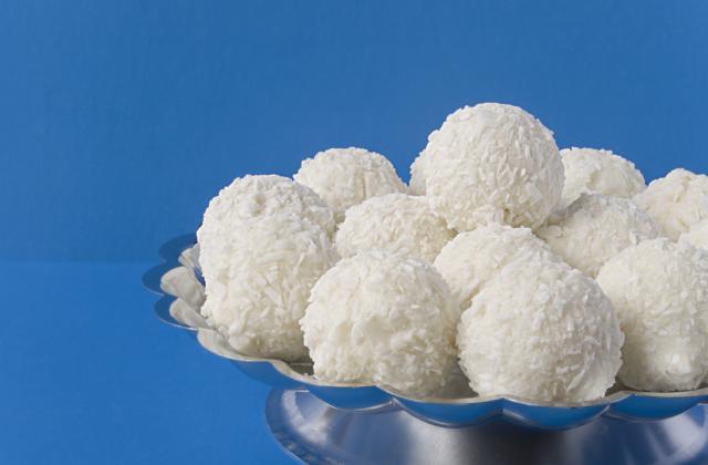 Boule fondante noix coco - Photo par gaellelecolo43