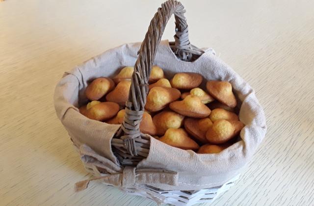 Mini madeleines à l'orange au thermomix - Photo par Dany33