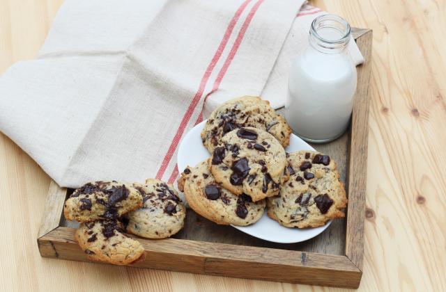 Cookies aux pépites de chocolat et sucre de canne complet - Photo par Silvia Santucci
