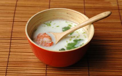 Soupe de crevettes au lait de coco - Photo par pascal3fh