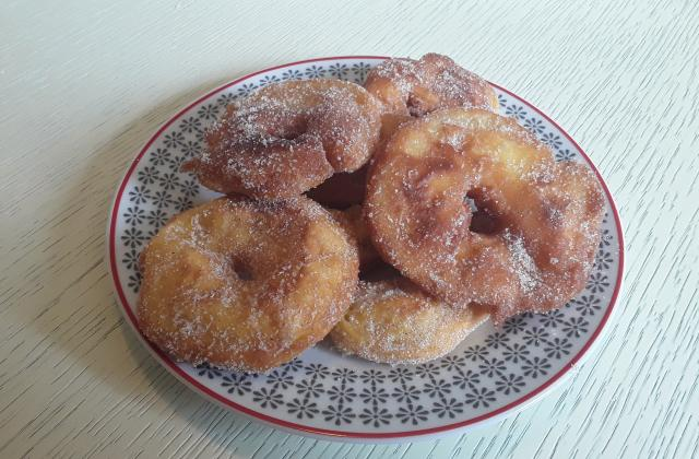 Beignets aux pommes et cannelle - Photo par Dany33