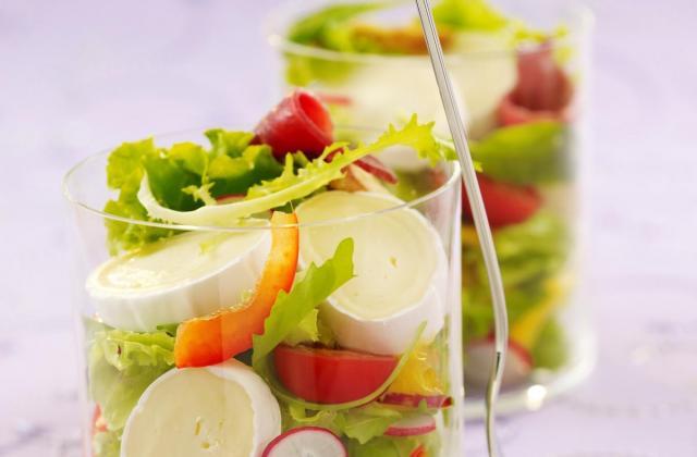 Salade colorée à l'en cas de caprice - Photo par Caprices des Dieux