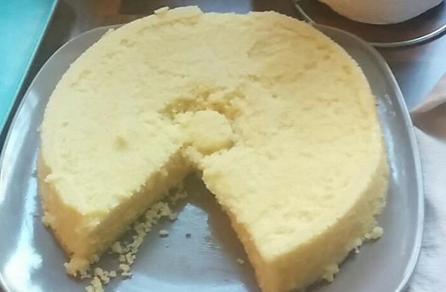 Gâteau au citron au micro-ondes - Photo par sgryga