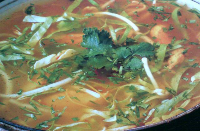 Soupe de poisson aux légumes - Photo par infocuV