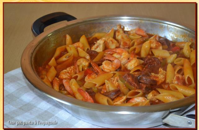 One pot pasta à l'espagnole - Photo par Lilly77