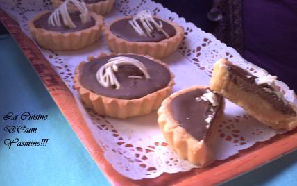 Tartelette au caramel et chocolat ! - Photo par sultant