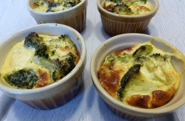 Petit flan de brocoli au parmesan - Photo par Carmen