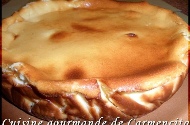Cheesecake au carré frais et au citron - Photo par Carmen