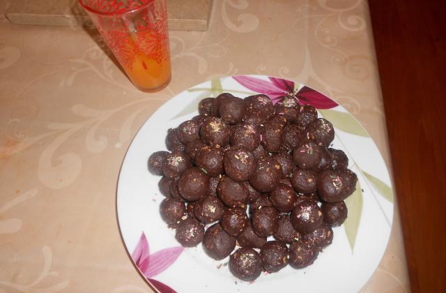 Boules de choco - Photo par merrieP