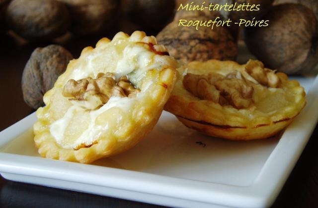 Mini tartelettes roquefort poire - Photo par du plaisir dans ma cuisine