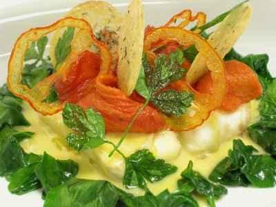 Turbot, moutarde et tomates, à la Gérard Rouillard - Photo par 750g