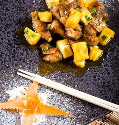 Magret de canard et ses ananas caramélisés au miel à la Plancha ! - Photo par Miel et Nature