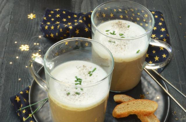 Cappuccino de champignons - Photo par Angélique Roussel pour Soy