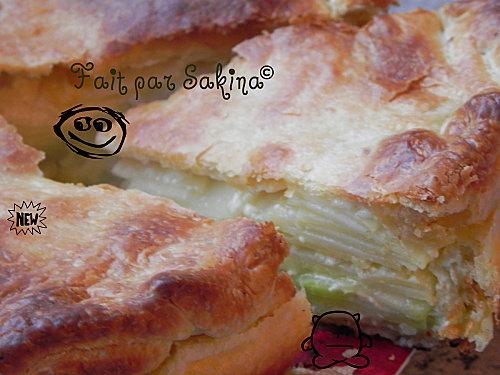 Tourte aux pommes de terre et courgettes - Photo par sakina4