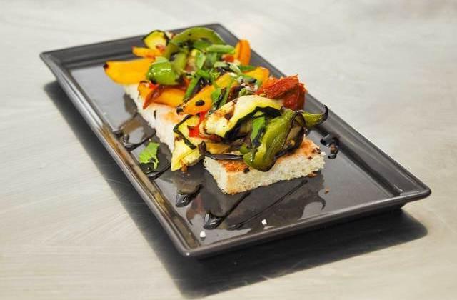 Bruscheta de légumes grillés maison - Photo par Orts